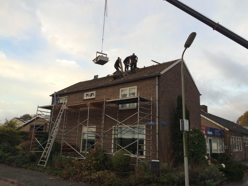 nieuw dak woonhuis
