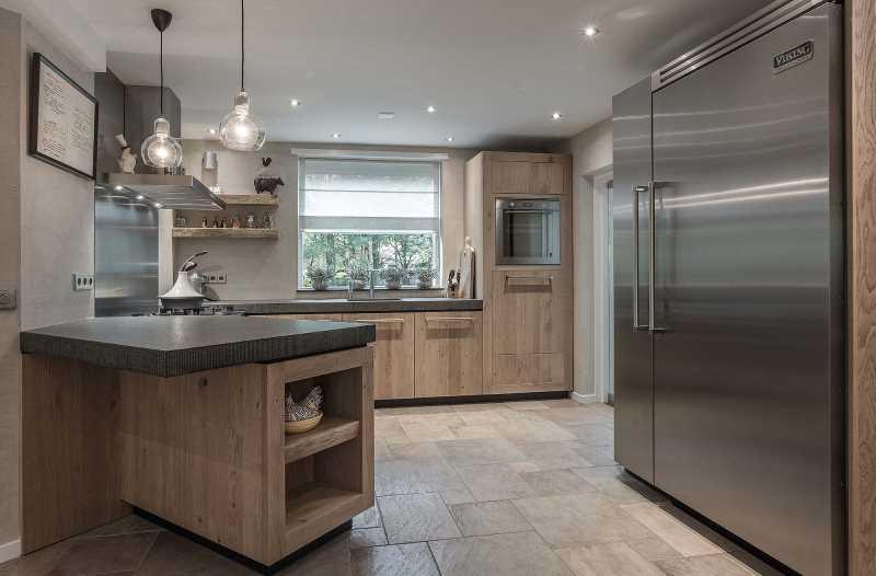 Nieuwe Design Keuken : Nieuwe luxe keuken in woonhuis boerderij van der broek koerts